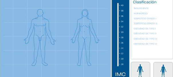 Callcular el indice de masa corporal y obesidad